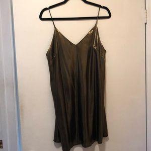 Wilfred Free Metallic Dress